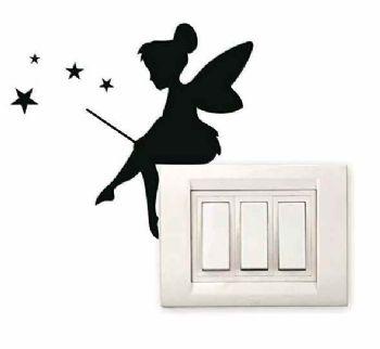 Fairy Lightswitch Sticker